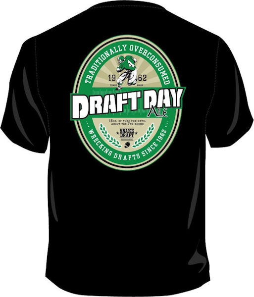 Draft Day Ale Fantasy Football T-Shirt