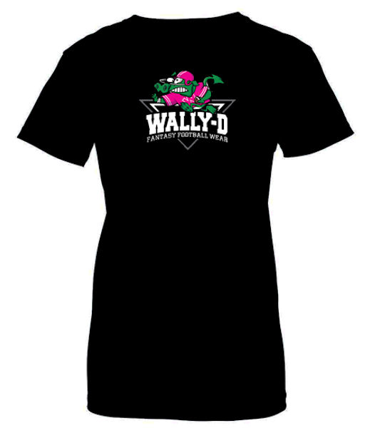 Womens Fantasy Football T-Shirt Breast Cancer Awareness