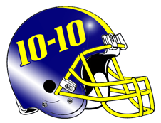 10-10 Football Football Helmet
