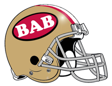 BAB 49er Colors Fantasy Team Helmet