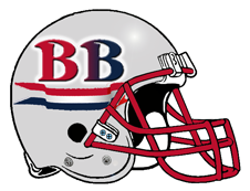 Brady Bunch BB Fantasy Football Helmet Logo