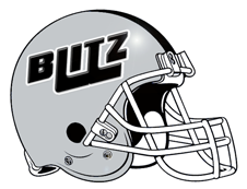 BLITZ Custom Fantasy Football Helmet Logo