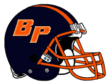 BP Logo Football Helmet Fantasy