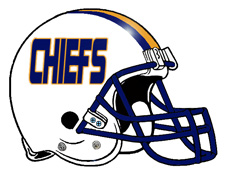CHIEFS Football Helmet Fantasy Logo