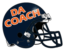 Da Coach Custom Fantasy Football Helmet
