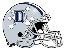 Dallas Doomsday Defense D Fantasy Football Helmet