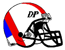 Del Prados DP Fantasy Football Helmet