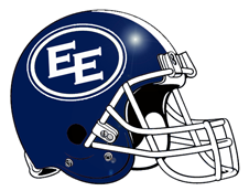 East End Giants Double EE Fantasy Football Helmet