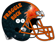 Fraggle Rock Fantasy Football Helmet