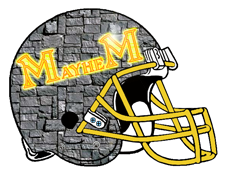 Mayhem Fantasy Football Helmet