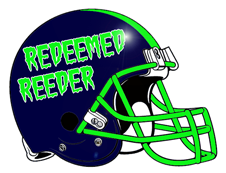 Redeemed Reeder Fantasy Football Helmet