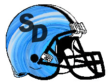 Smack Daddies SD Fantasy Football Helmet