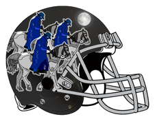 Headless Horsemen Fantasy Football Helmet