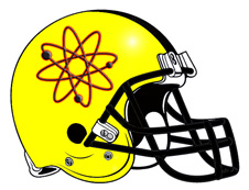 Science Atom Fantasy Football Logo