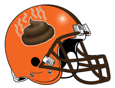 Turd Fantasy Football Helmet