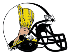 Fantasy Football Trophy Helmet Logo