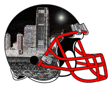 Jersey City Fantasy Football Helmet Logo