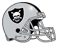 Raider Nation Skull Fantasy Football Team