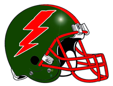 Red Lightning Bolts
