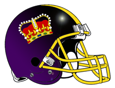 Royal Crown Logo Fantasy Football Helmet