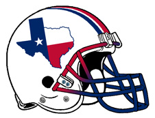 Homegrown Texas Football Fantasy Helmet
