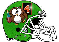 Owls Fantasy Football Helmet Logo