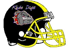 Rude Dogs Fantasy Football Helmet Logo