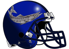 Barracuda Fantasy Football Helmet Logo