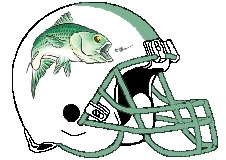 Bass Masters Fantasy Football Helmet Logo