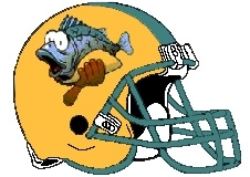 Fish Taco Fantasy Football Helmet Logo