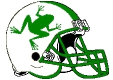 Frogs Fantasy Football Helmet Logo