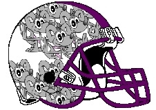 Mice Fantasy Football Helmet Logo