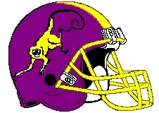 Spank Monkeys Fantasy Football Helmet Logo