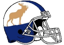 Moose Fantasy Football Helmet Logo