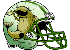 Catfish Fantasy Football Helmet Logo