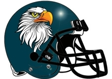 Eagles Fantasy Football Helmet Logo