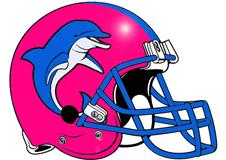 Dolphins Fantasy Football Helmet Logo