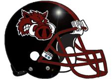 Pigs Fantasy Football Helmet Logo
