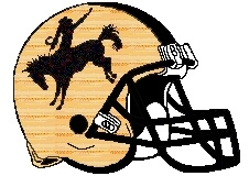 Rodeo Fantasy Football Helmet Logo