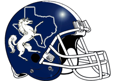 Texas Stallions Fantasy Football Helmet Logo