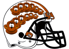 Twelve Monkeys Fantasy Football Helmet Logo