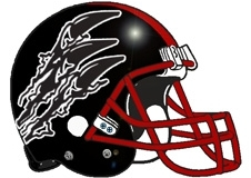 Claws Fantasy Football Helmet Logo