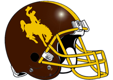 Wyoming Fantasy Football Helmet Logo