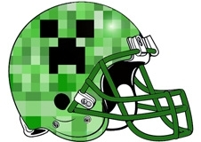 minecraft-creeper-face-fantasy-football-helmet