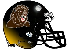 werewolf-howling-at-moon-fantasy-football-helmet-logo