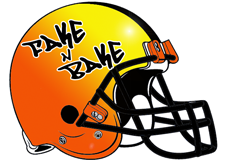 Fake N Bake Fantasy Football Helmet Logo