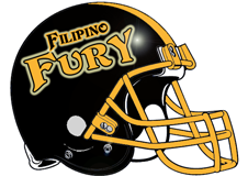 Filipino Fury Fantasy Football Helmet