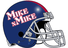Mike N Mike Fantasy Football Logo Helmet