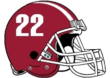 number-22-football-helmet-fantasy-logo