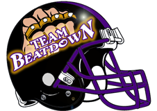 Team Beatdown Fantasy Football Helmet Logo